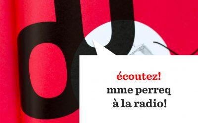 Eine Radiosendung über Oulipo, Ougrapo und mme perreq